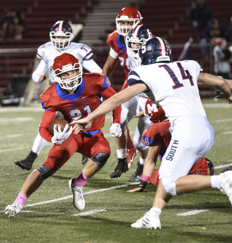 Morgantown's Preston Fox had over 160 yards of total offense in the loss Friday to Parkersburg South.