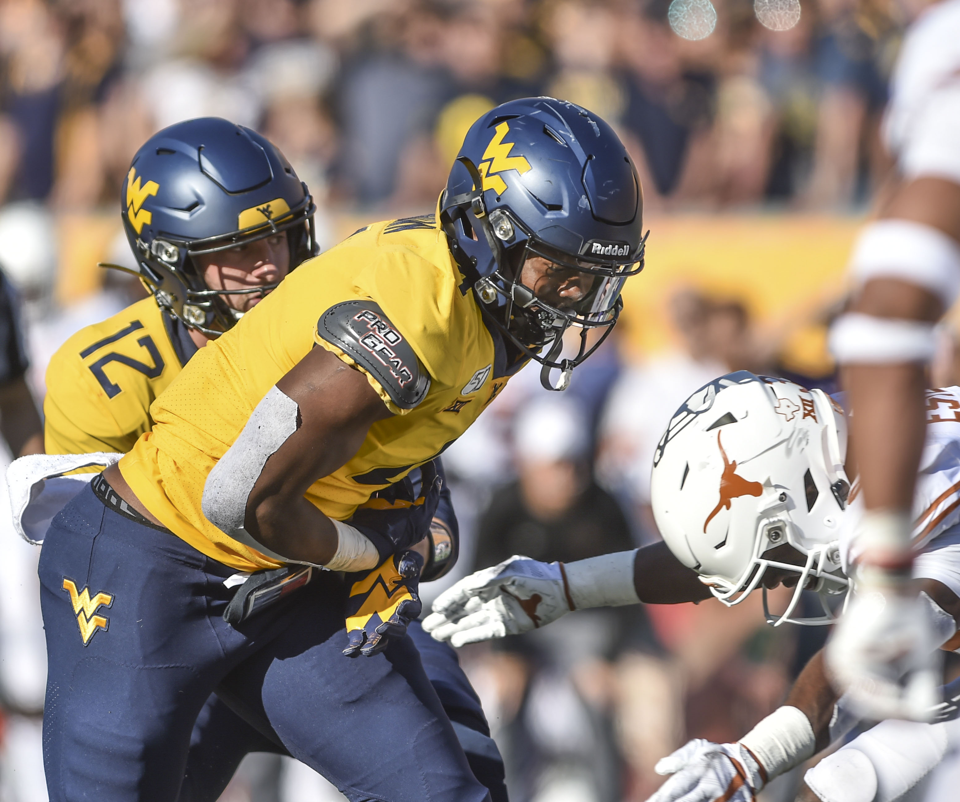 How They Scored Texas 42 West Virginia 31 Dominion Post