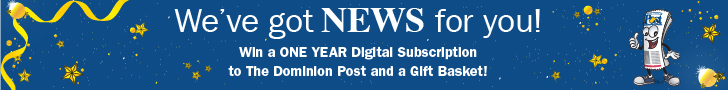 Win a one year digital subscription to the Dominion Post and gift basket!