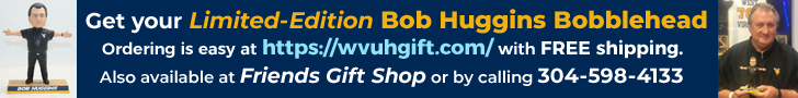 Limited edition Bob Huggins Bobbleheads