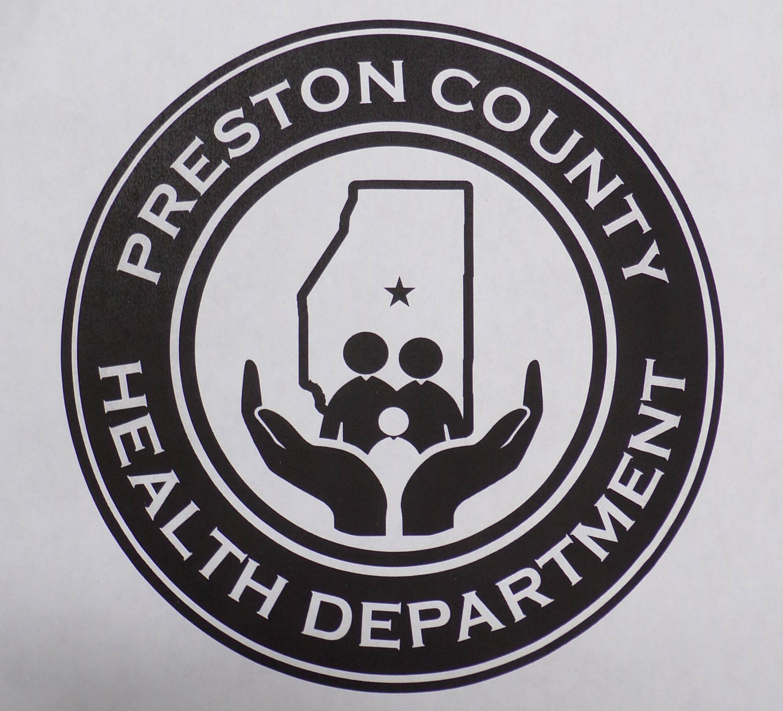 logo for the Health Department of Preston County, WV