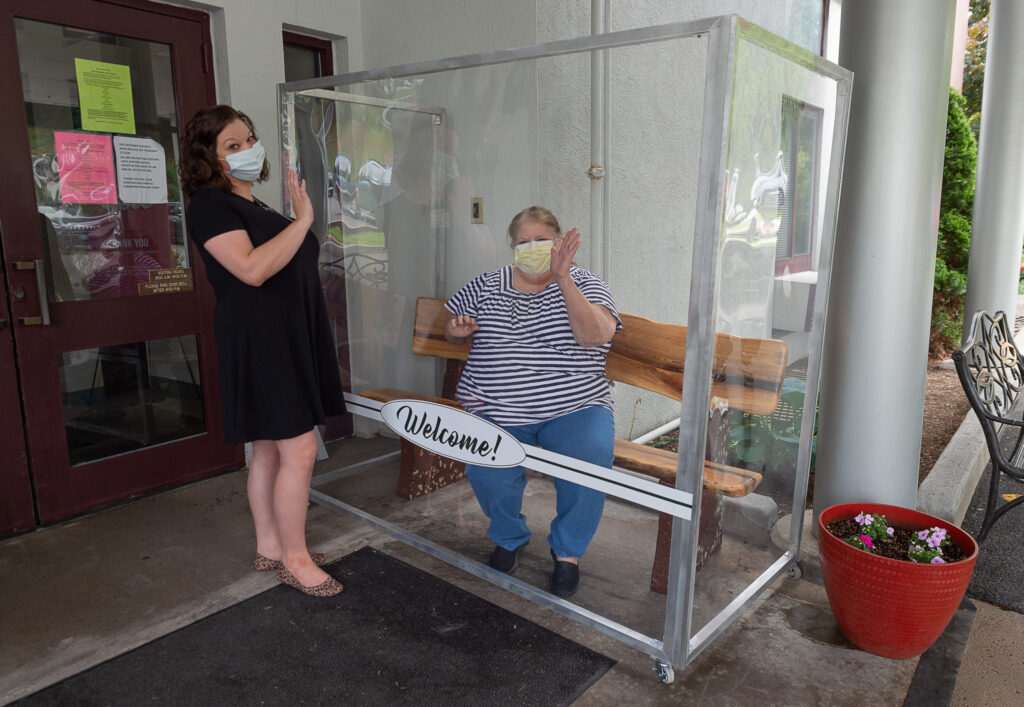 visitors box at Sundale