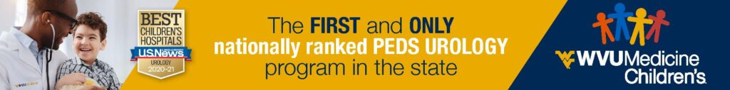 WVU Medicine, first and only nationally ranked PEDS urology