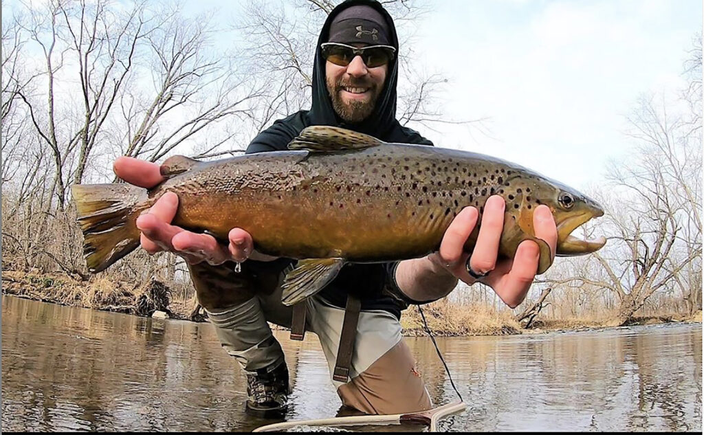 Tyler Brill brown trout