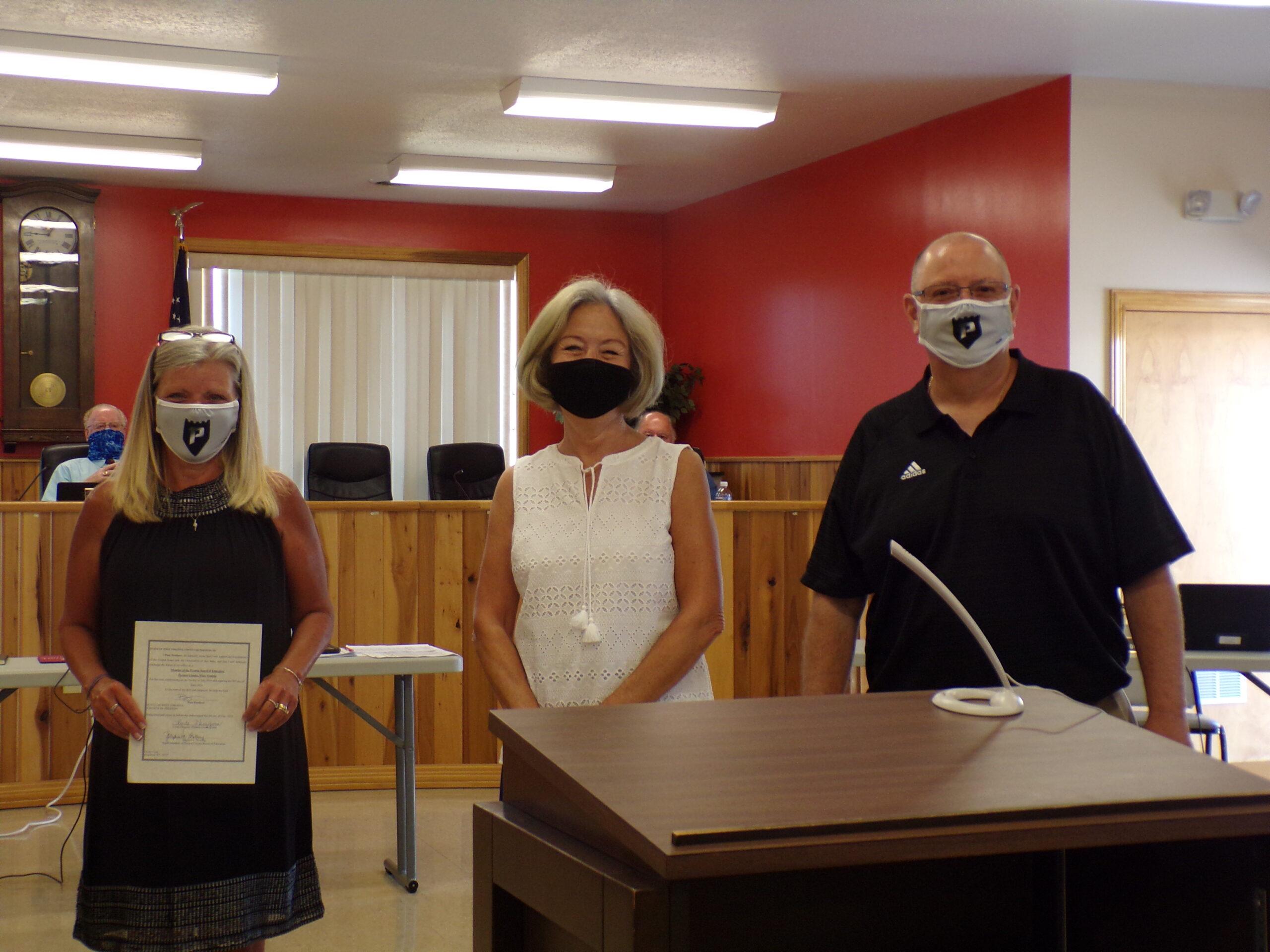 New Preston BOE members took office July 6.