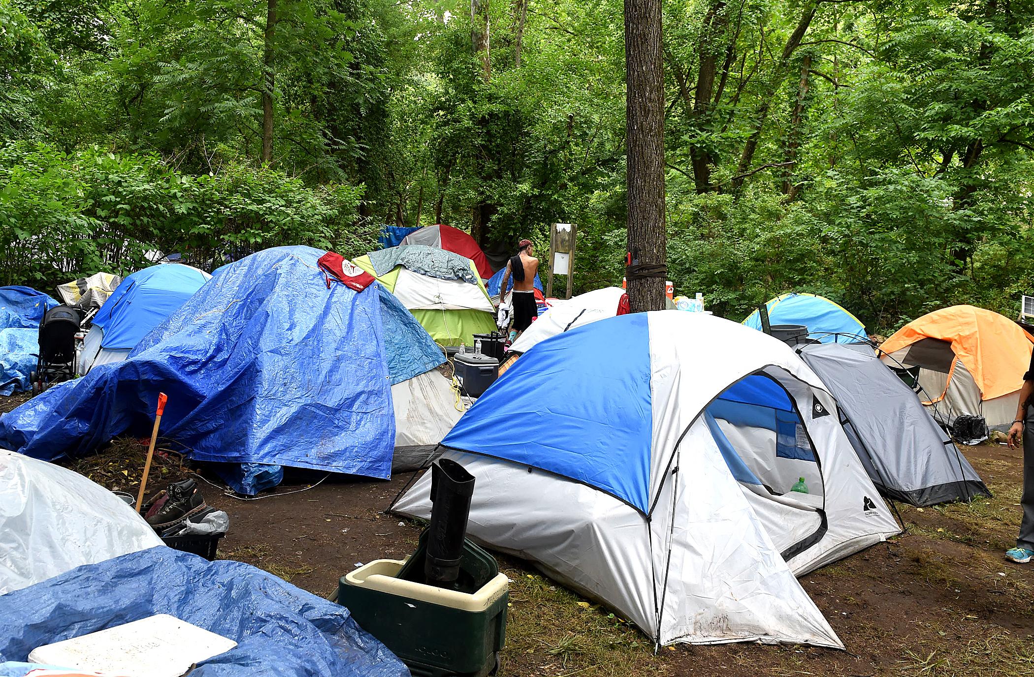 tents at Diamond Vilalge