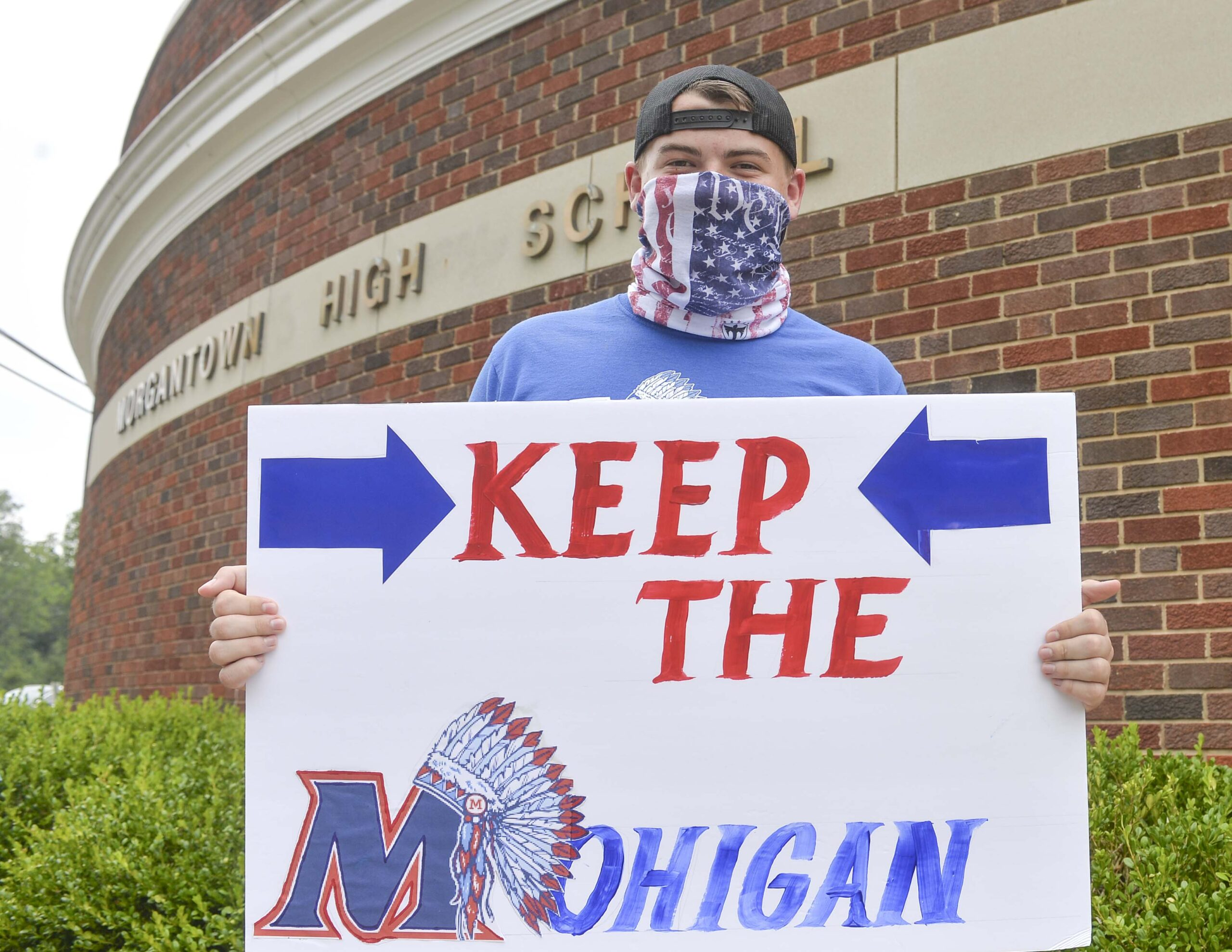 save the mohigan protest