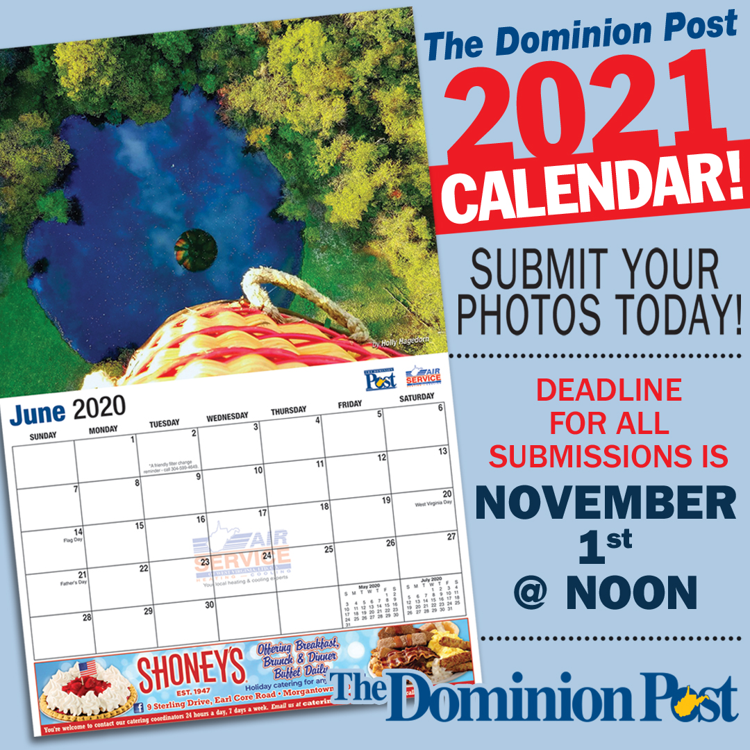 Submit to the Dominion Post 2021 Calendar