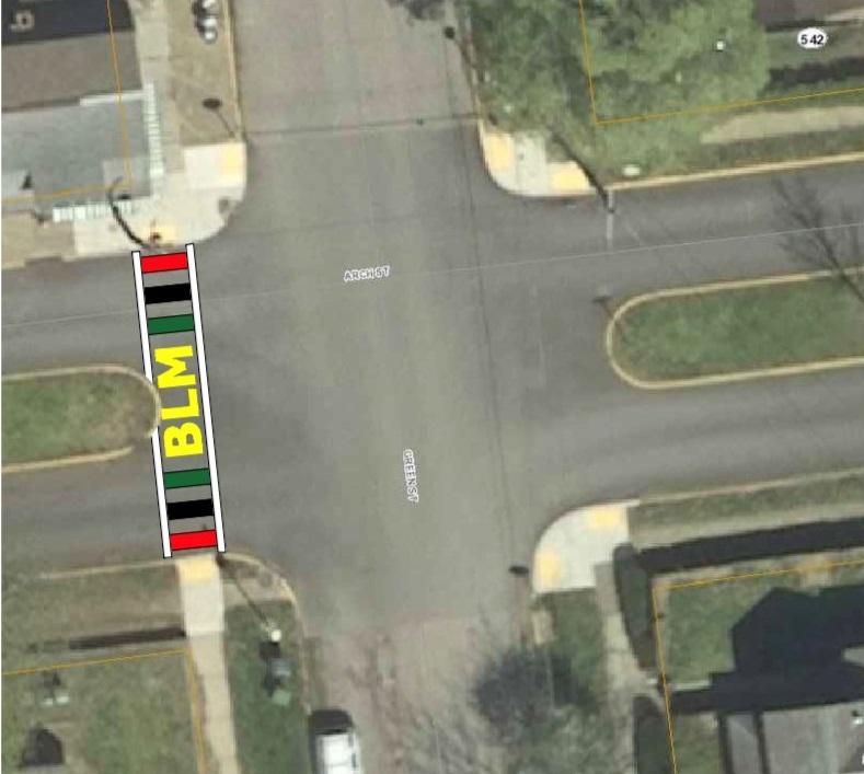 blm crosswalk