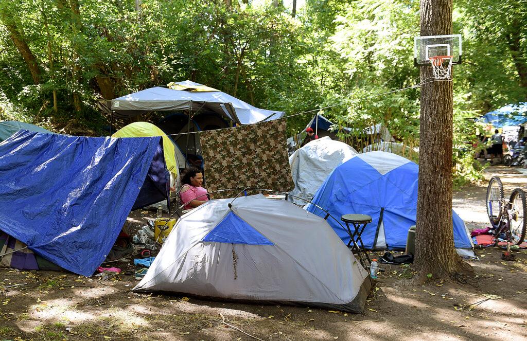 Encampment on Deckers Creek Diamond Village