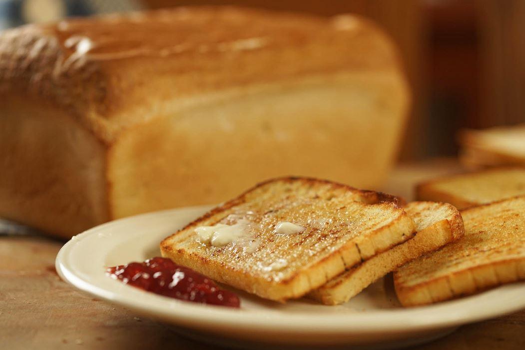 salt rising bread toast
