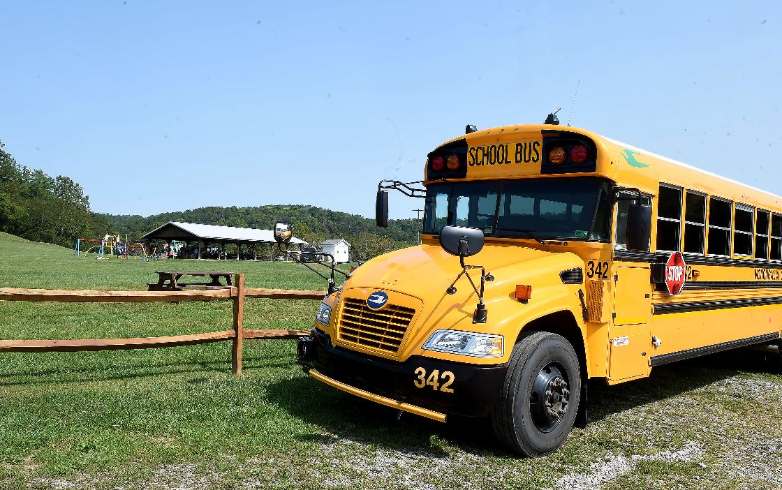 wifi bus at Mason Dixon