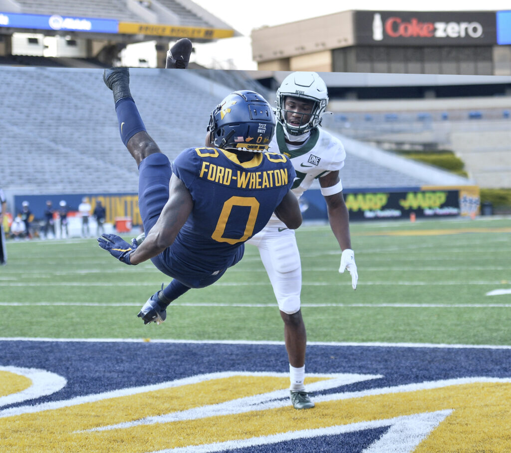 Bryce Ford-Wheaton realized mental aspect is his biggest hurdle heading into junior season at WVU
