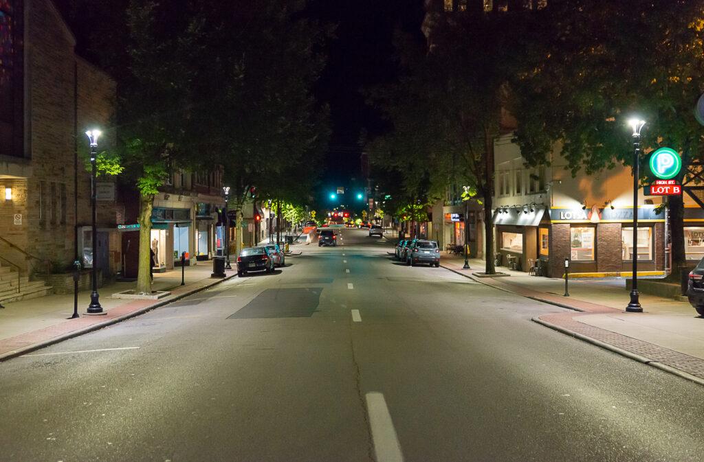 high street first night back