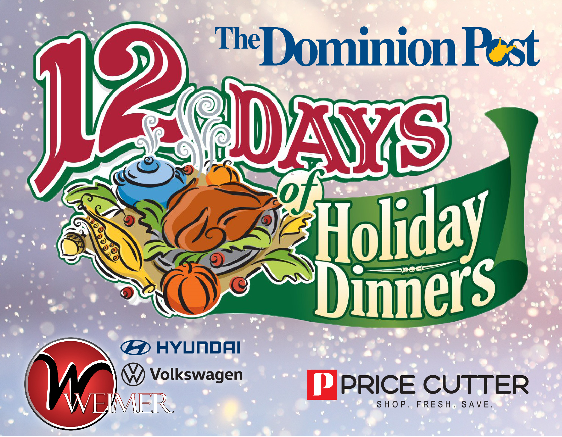 12 days of holiday dinners