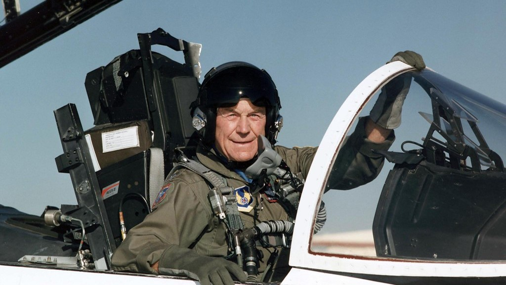 The late Gen. Chuck Yeager