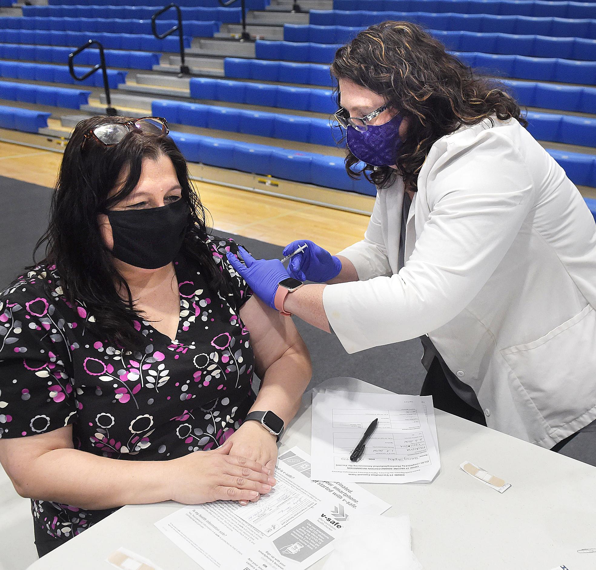 school staff vaccine
