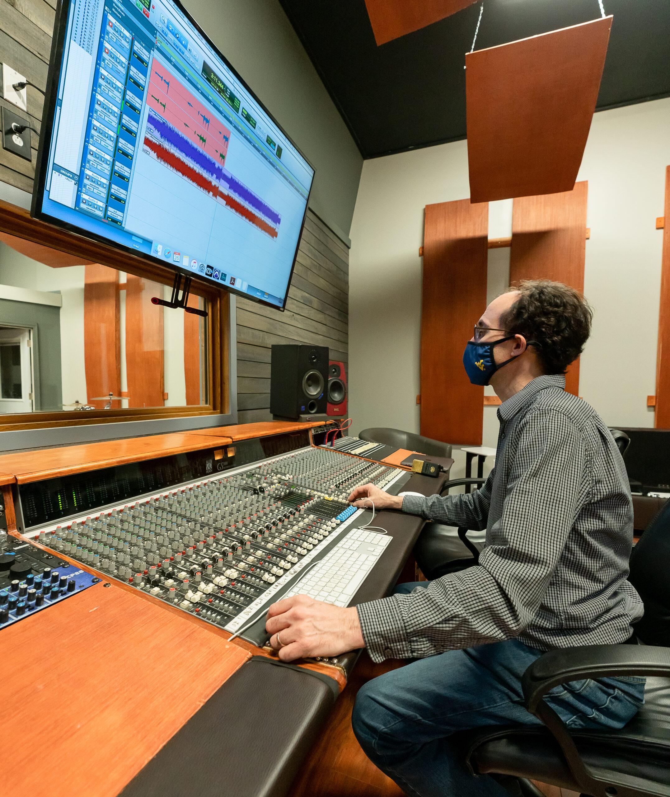 recording at Blue Alley Studio