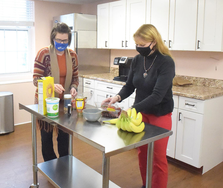 Mon County WIC program new kitchen