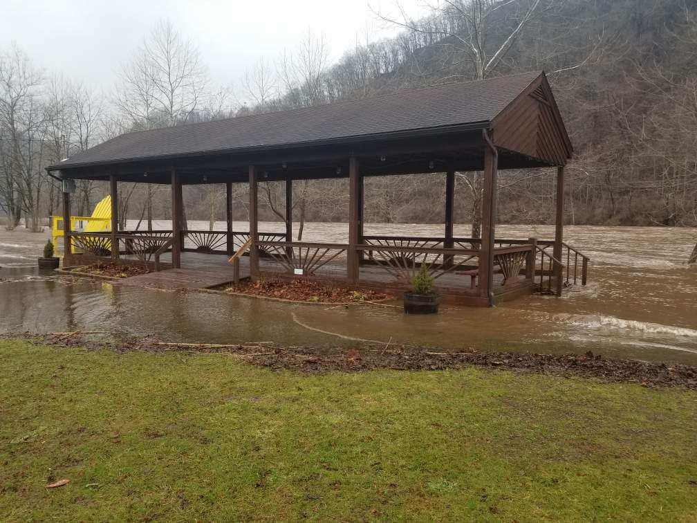 Rowlesburg park flooding
