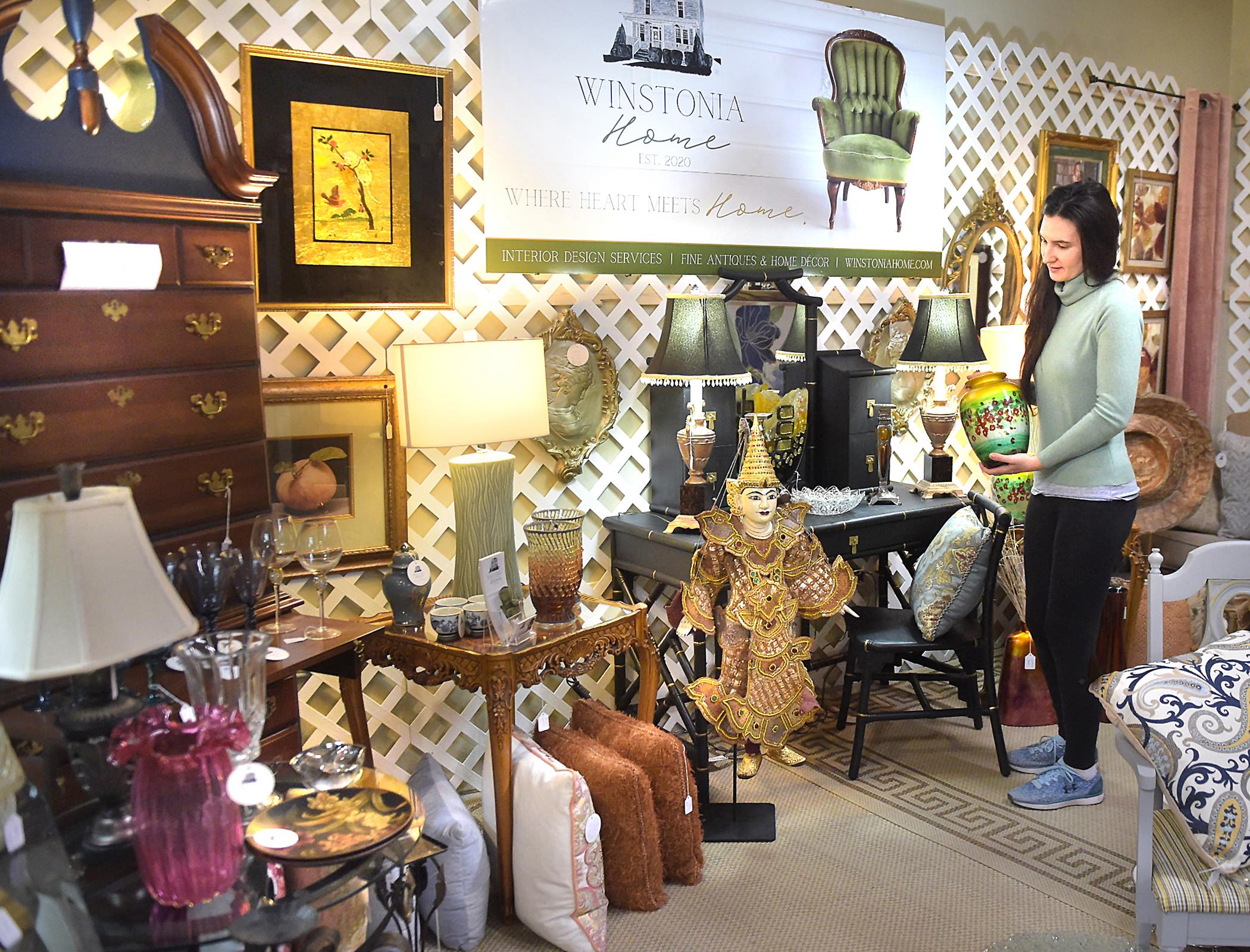 April Black at Eloquence Antiques