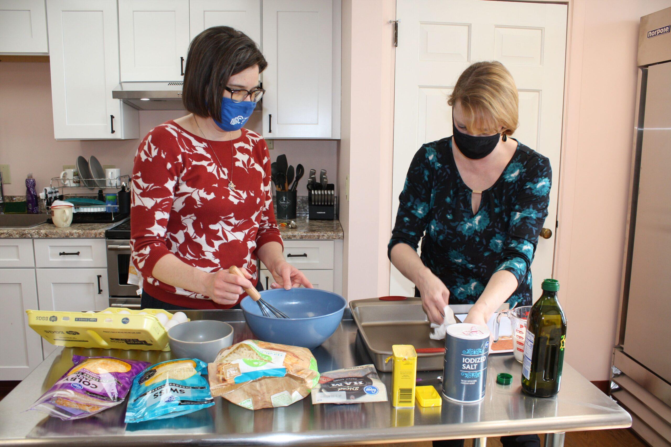 MCHD WIC cooking healthy breakfast
