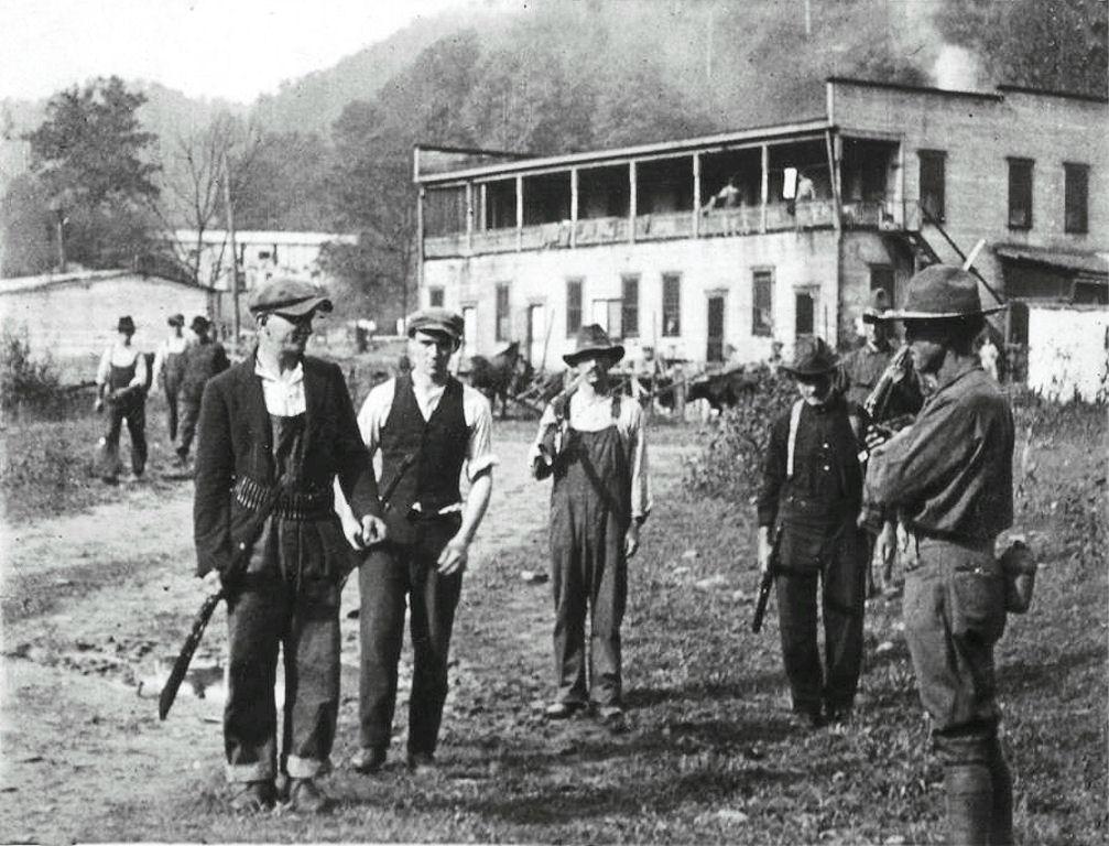 blair mountain gun surrender