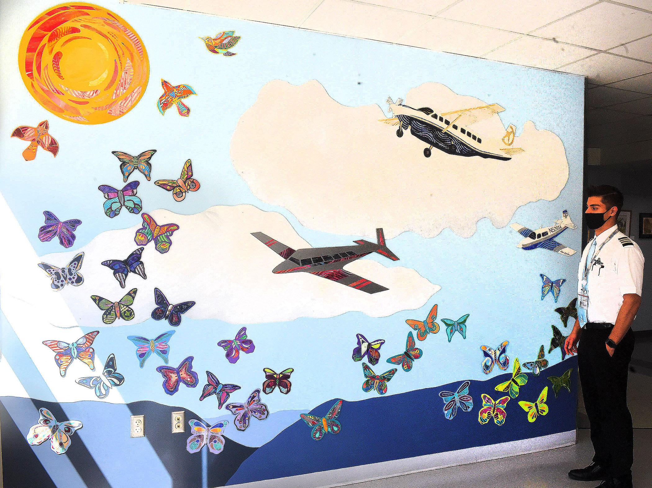 art at airport